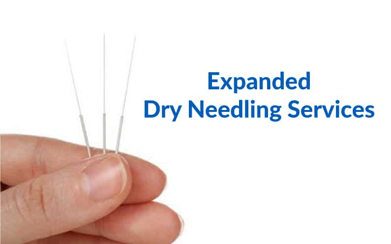 Expanded Dry Needling services at FSSC