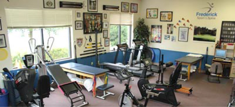 Physical Therapy Frederick Equipment